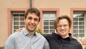 Unsere Local Coordinators der bvmd: Marco und Tobi